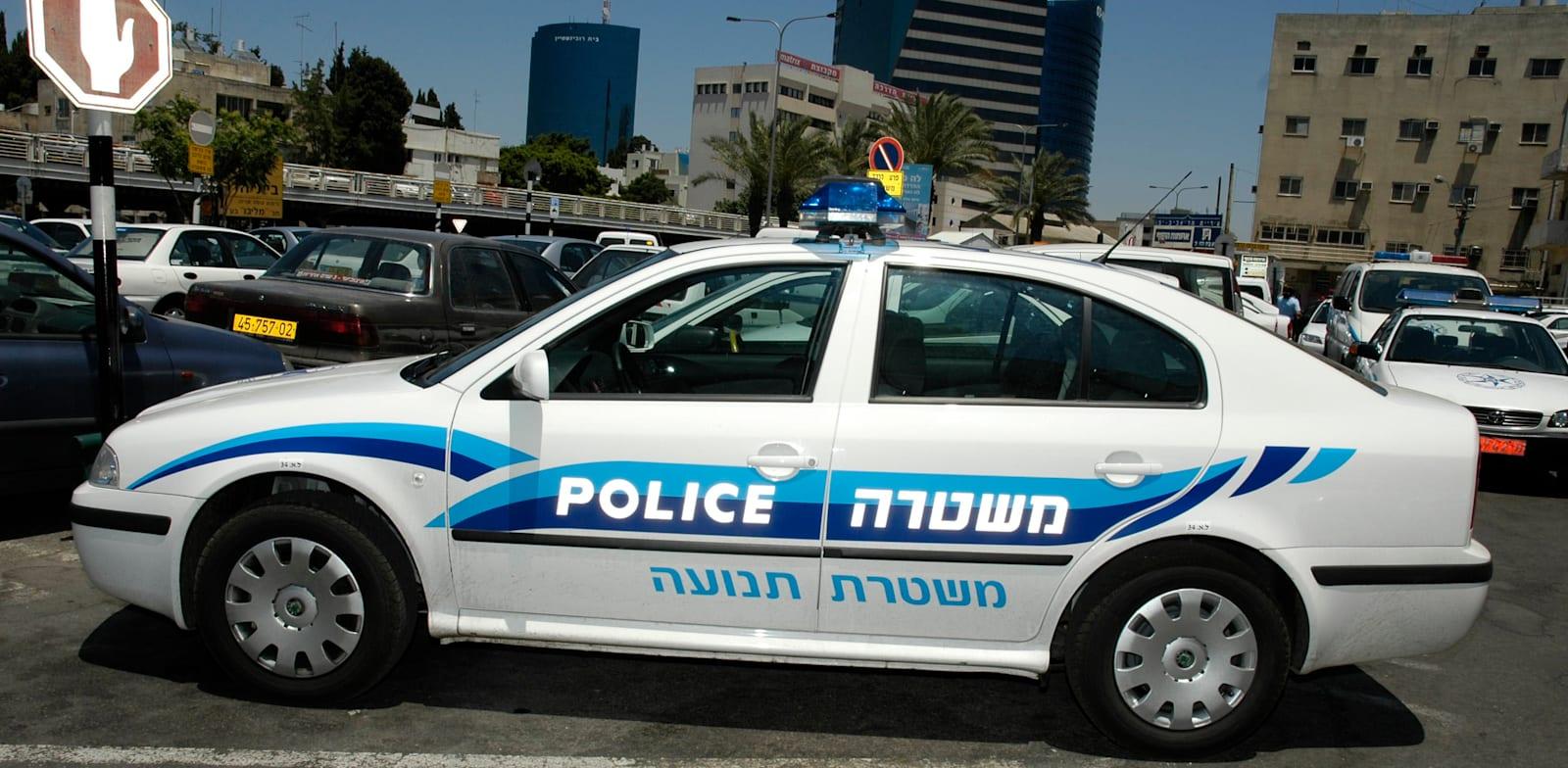 ניידת משטרה / צילום: תמר מצפי