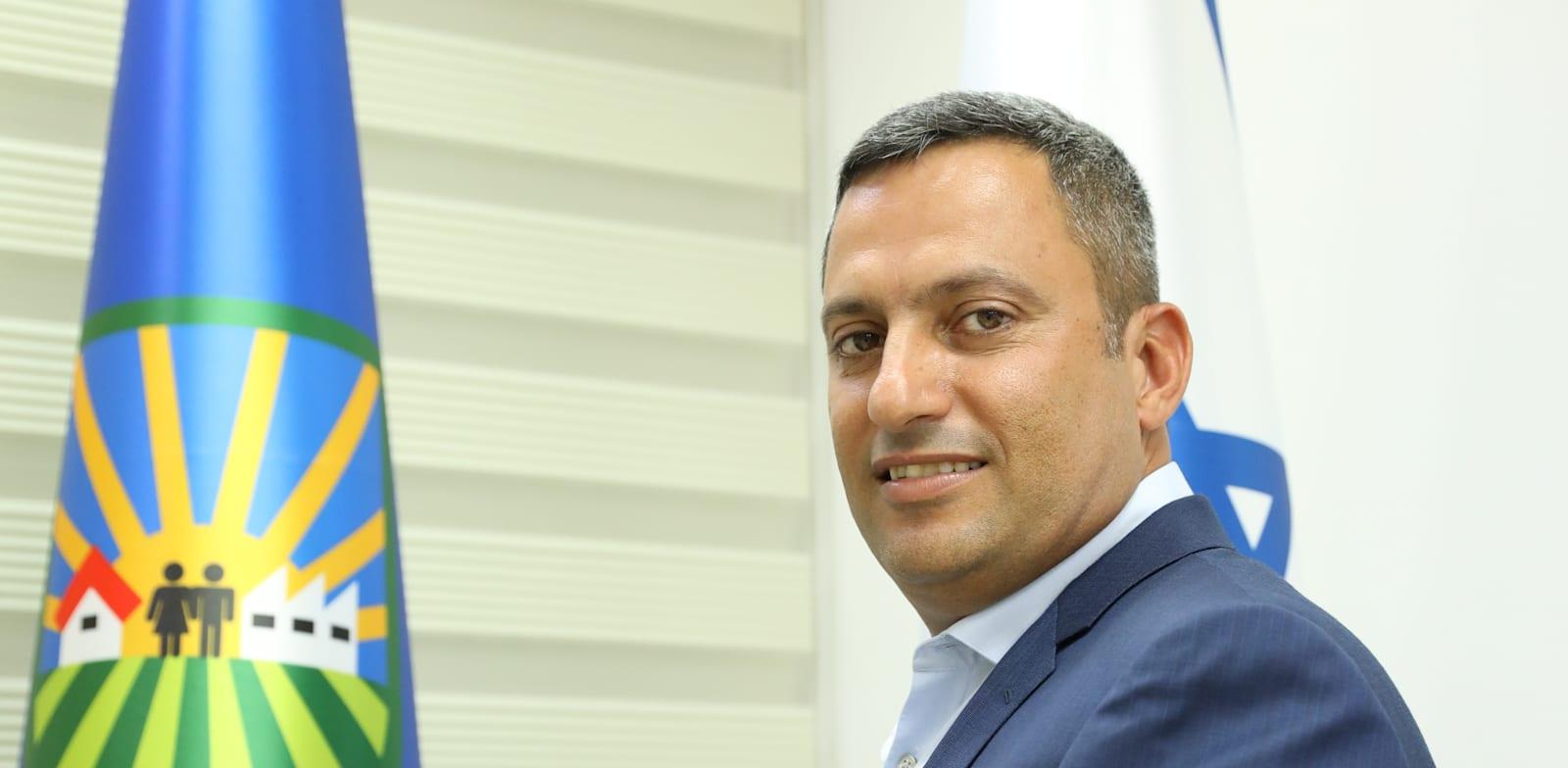 אלון דוידי - ראש עירית שדרות / צילום: גולן סבג