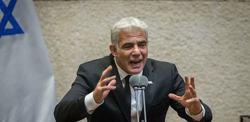 Yair Lapid Photo: Oron Ben Hakon
