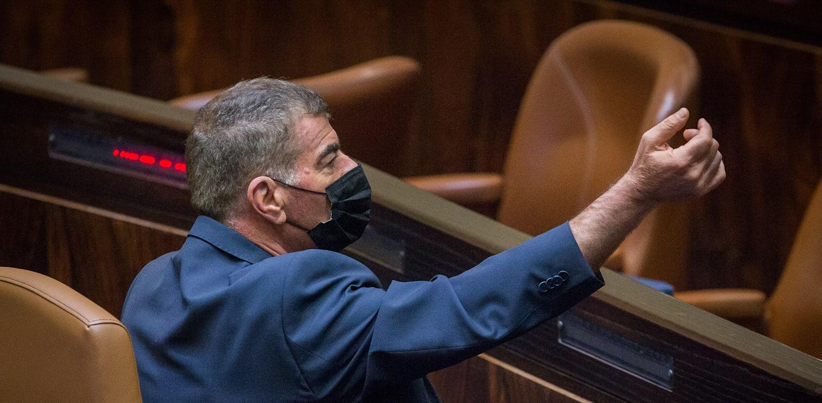 שר החוץ גבי אשכנזי / צילום: אורון בן חקון