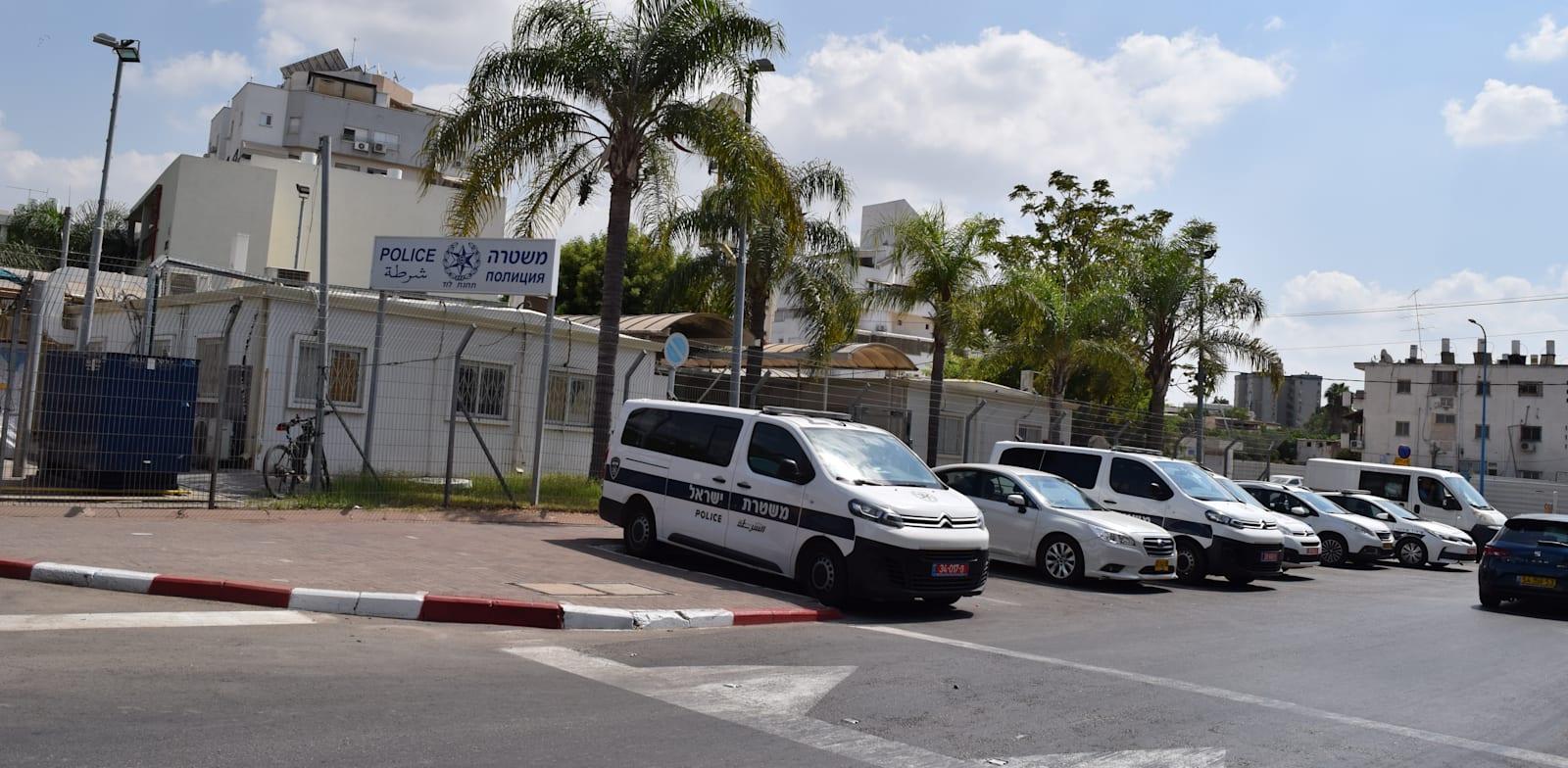 תחנת משטרת לוד / צילום: בר - אל