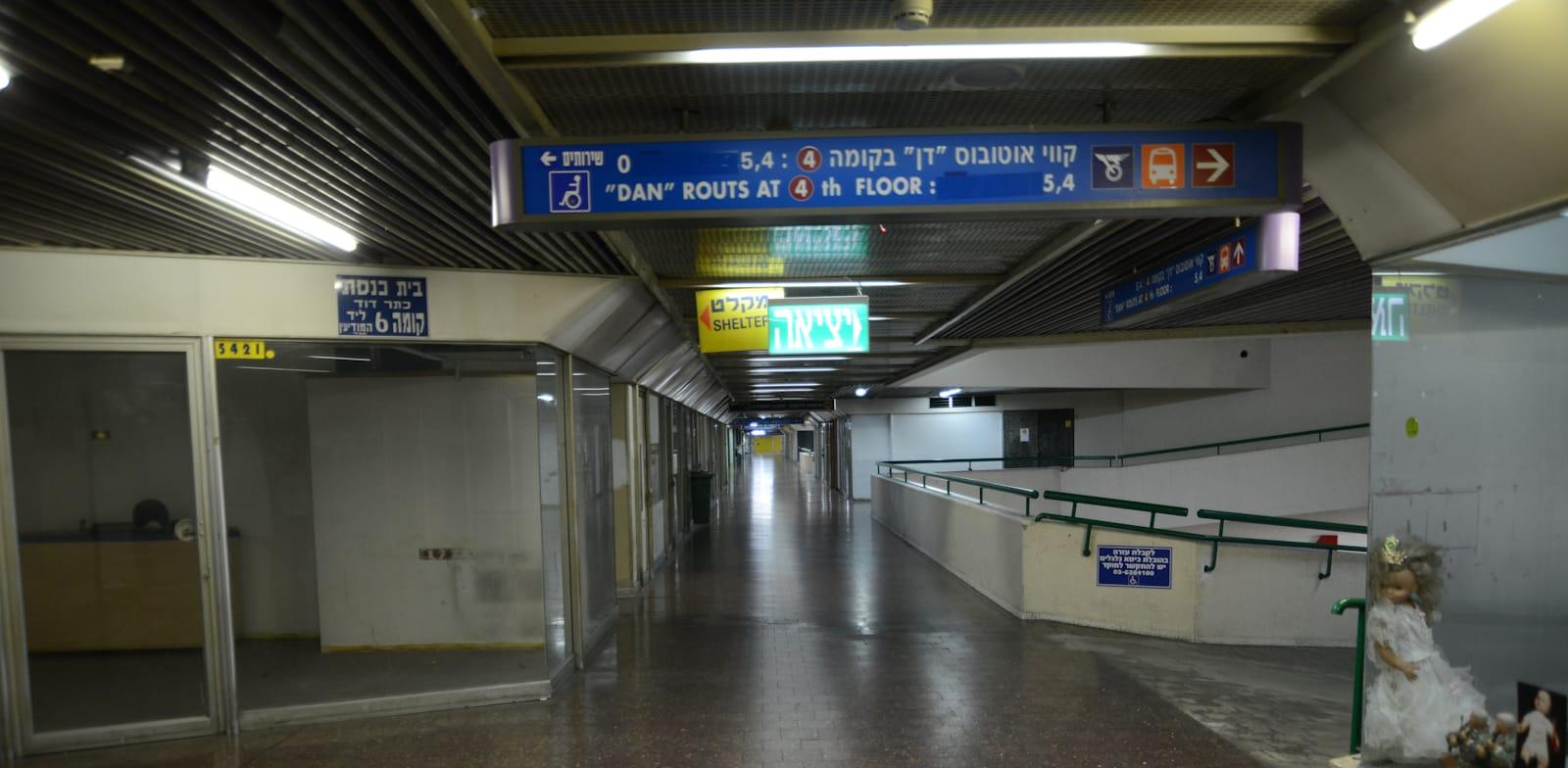 Tel Aviv New Central Bus Station Photo: Eyal Izhar