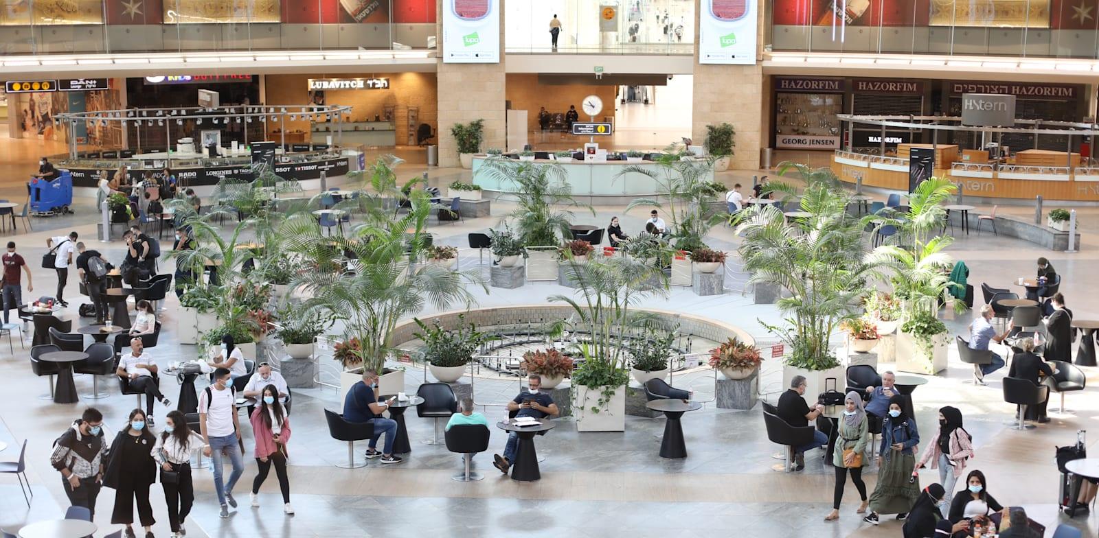 Ben Gurion Airport duty free Photo: Cadya Levi