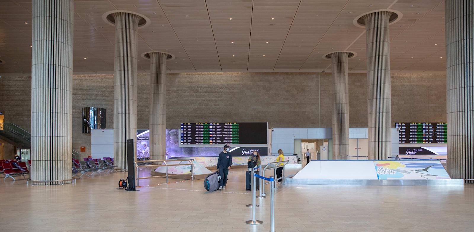Ben Gurion Airport  credit:Cadya Levy