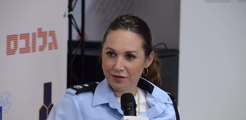 """סנ""""צ ליאת קילנר, מפקדת מפלג פל""""ס, משטרת ישראל / צילום: איל יצהר"""