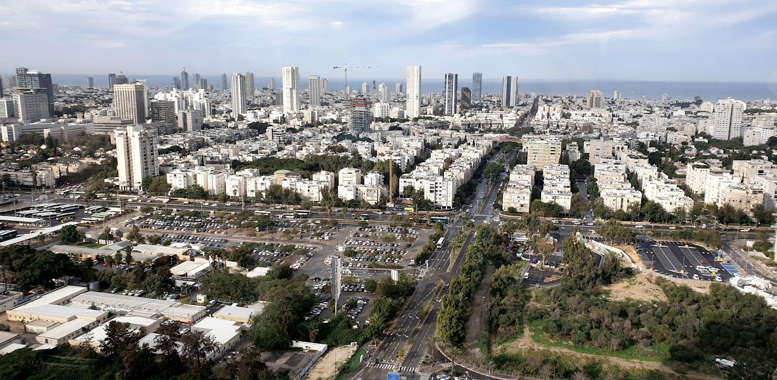 תל אביב. יש צורך מוחשי בשינוי דרסטי בתכנון התשתיות העירוניות / צילום: גיא ליברמן