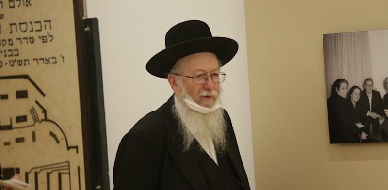 שר השיכון יעקב ליצמן / צילום: אלכס קולומויסקי-ידיעות אחרונות