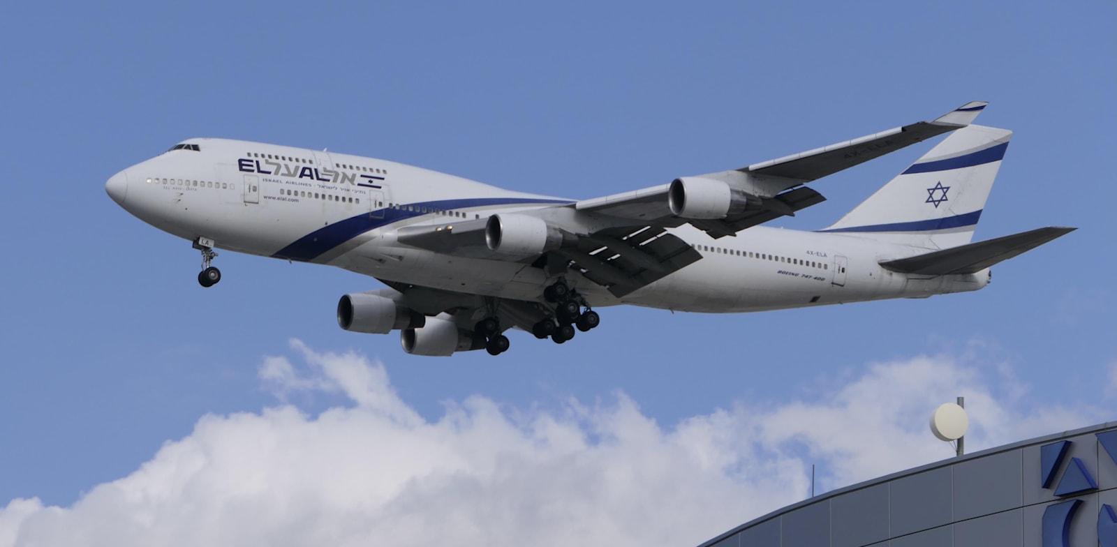 מטוס אל על / צילום: דני שדה