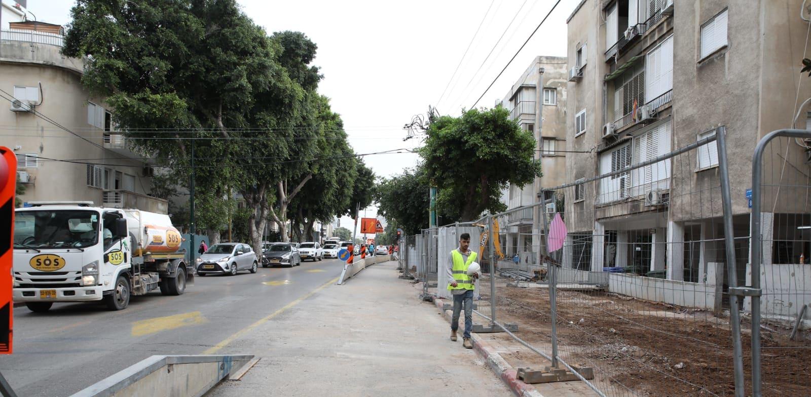 """רחוב ארלוזורוב בת""""א / צילום: כדיה לוי"""