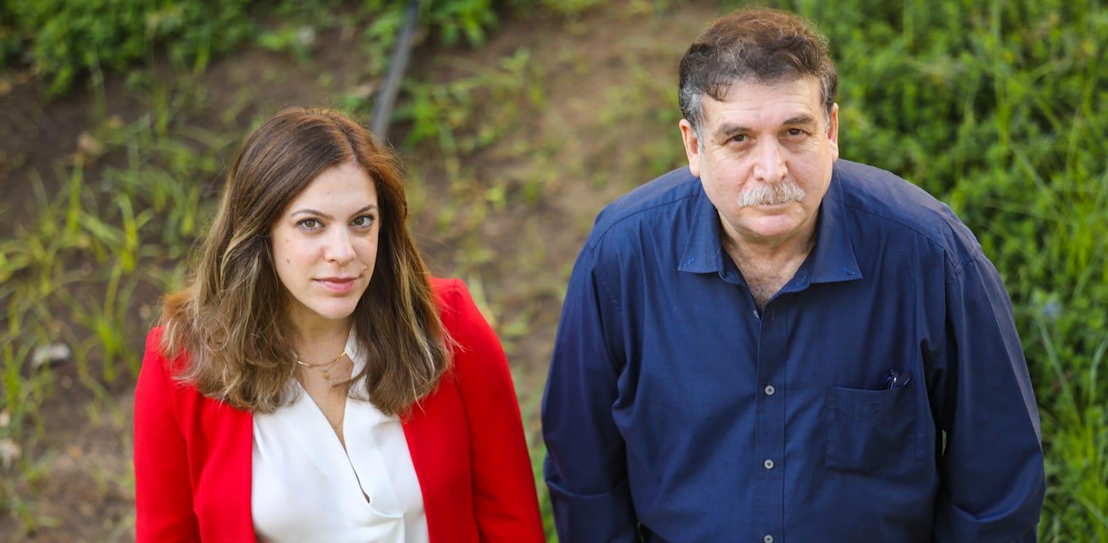 מנכ''לית NGS, לירון פנדל והמייסד פרופ' משה פיליפ / צילום: שלומי יוסף
