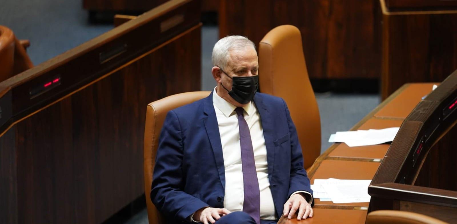 שר הביטחון בני גנץ / צילום: דני שם טוב דוברות הכנסת