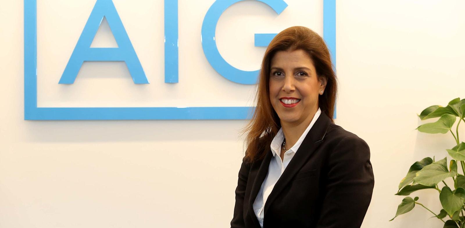 """יפעת רייטר, מנכ""""לית AIG / צילום: סיון פרג'"""