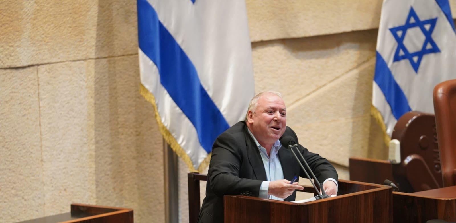 השר דוד אמסלם / צילום: דני שם טוב, דוברות הכנסת
