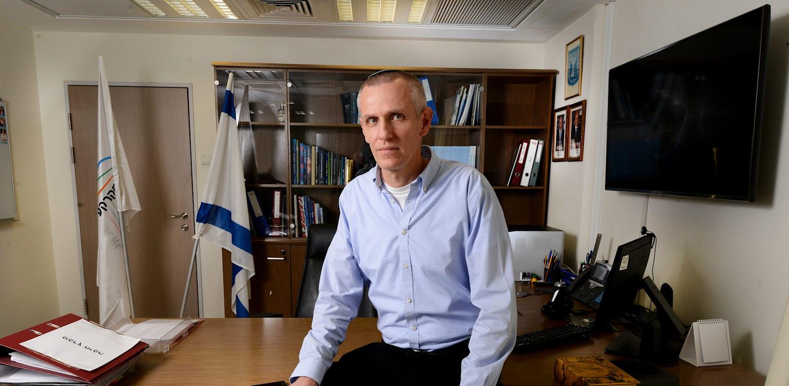 מנהל רשות מקרקעי ישראל יעקב (ינקי) קוינט / צילום: איל יצהר