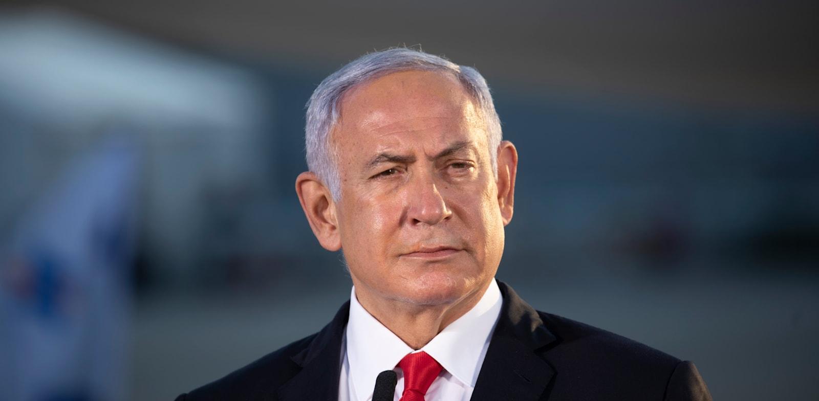 """ראש הממשלה בנימין נתניהו / צילום: אמיל סלמן, """"הארץ"""""""