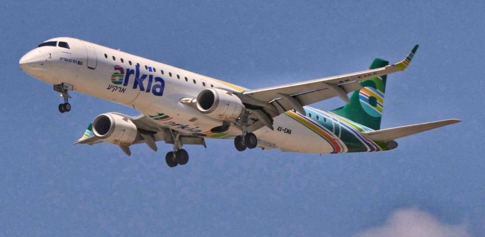 מטוס ארקיע / צילום: דני שדה