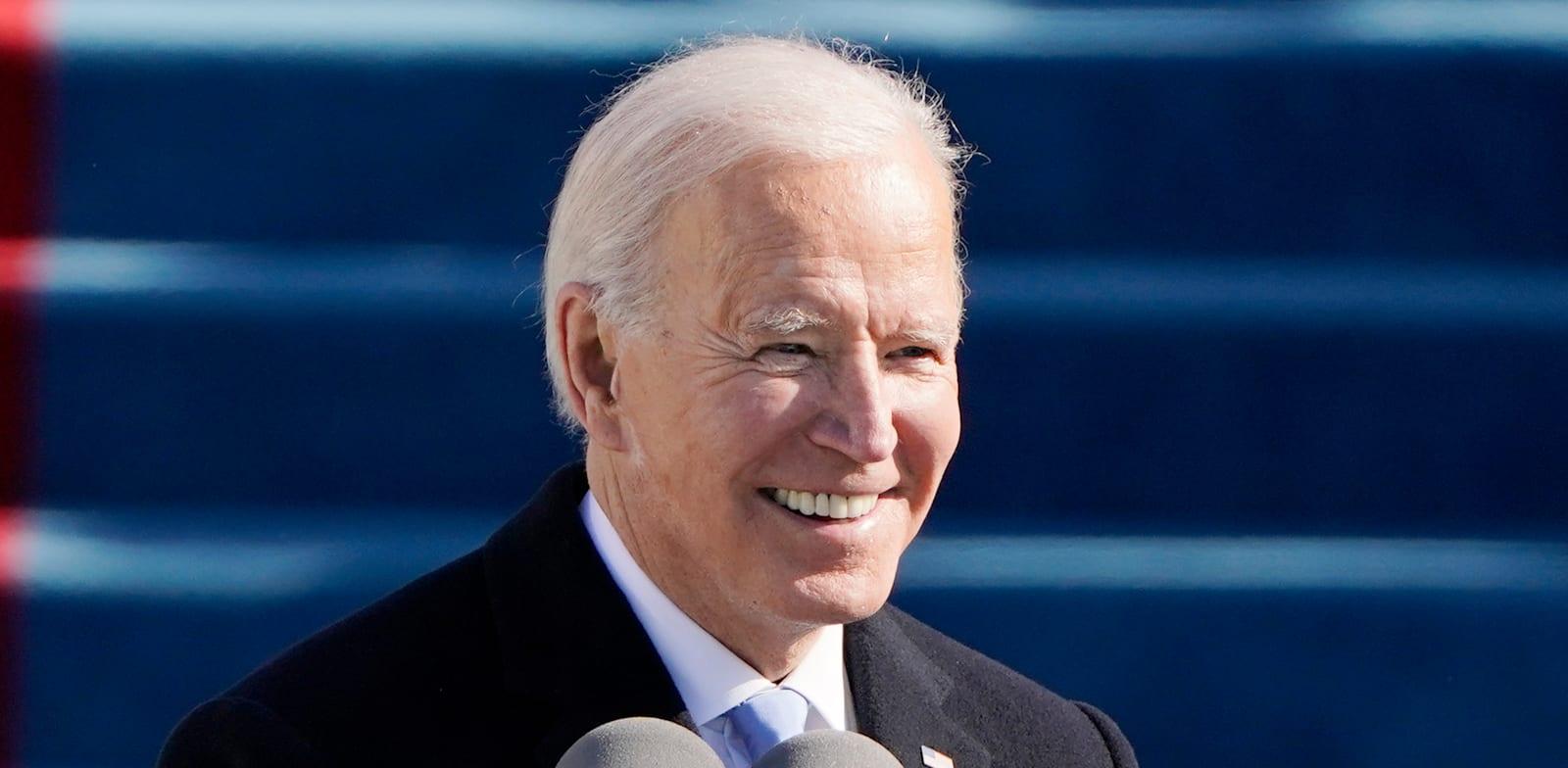 """ג'ו ביידן, נשיא ארה""""ב ה-46 / צילום: Associated Press, Patrick Semansky"""