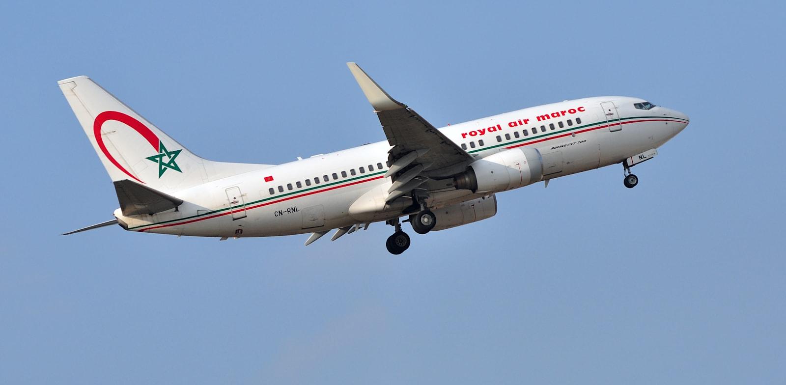 מטוס של רויאל אייר מרוק / צילום: Shutterstock, Vytautas Kielaitis