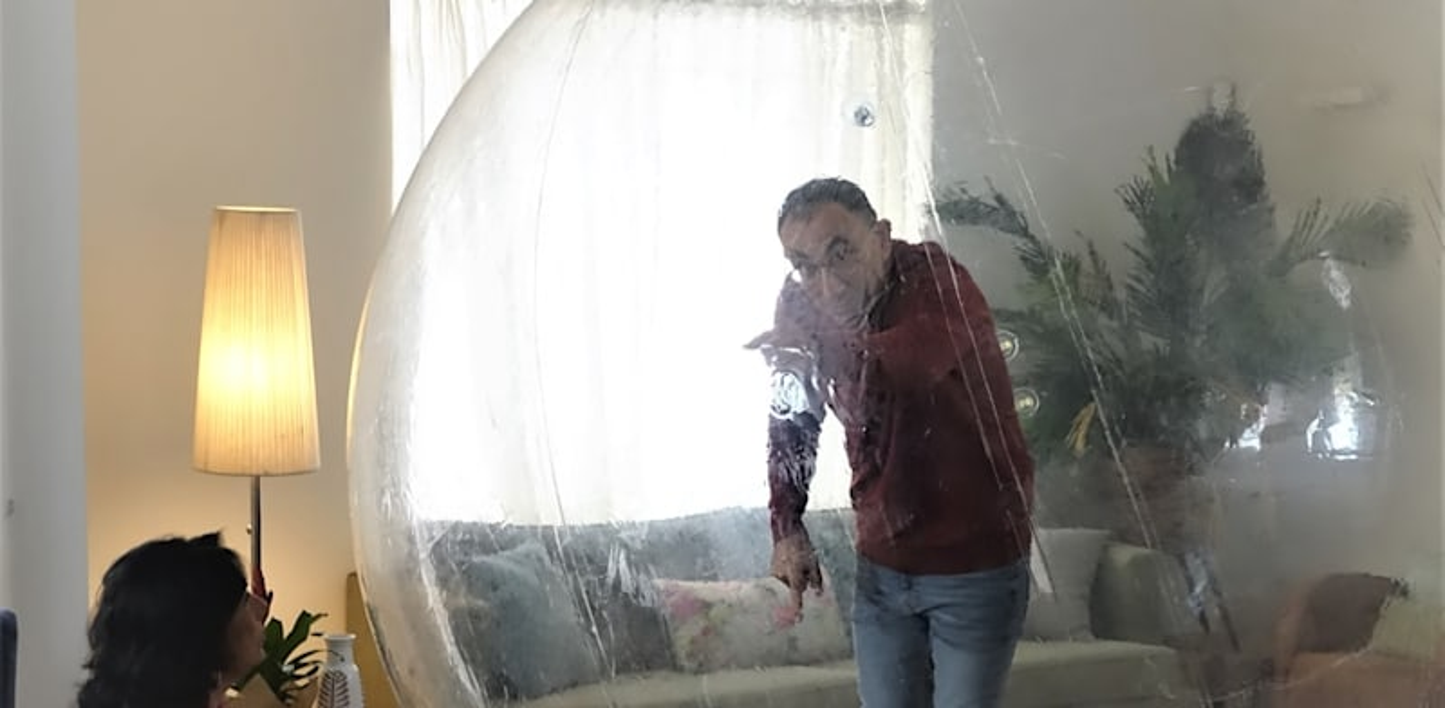 """ישראל קטורזה בקמפיין משרד הבריאות / צילום: לפ""""מ"""