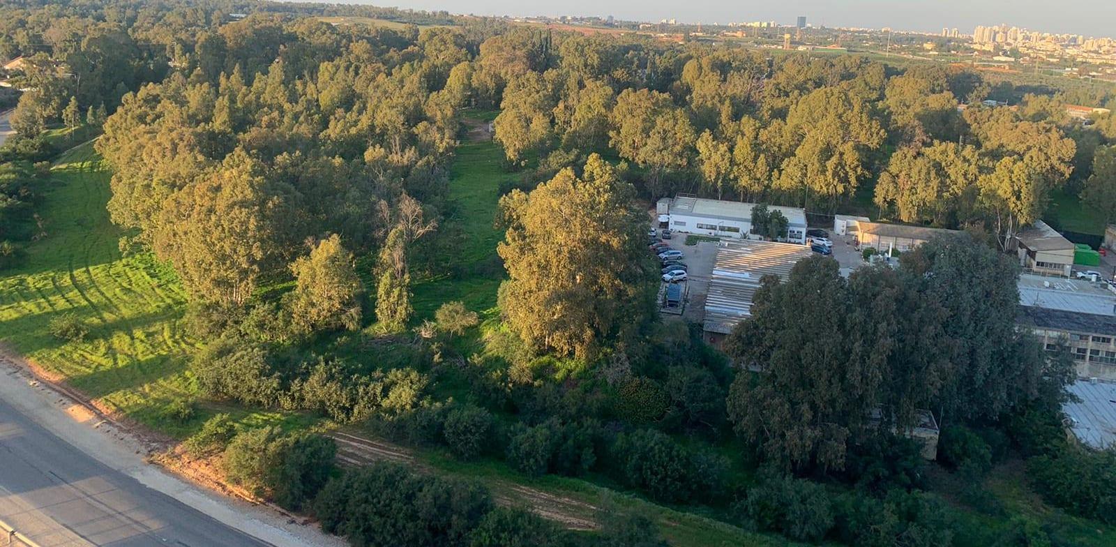 שטחי מפעל תעש השרון / צילום: תמונה פרטית