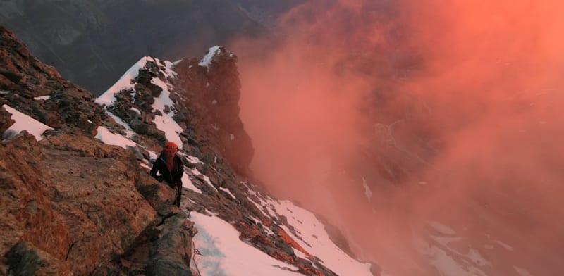 הזריחה בדרך לפסגה / צילום: יורם קראוס