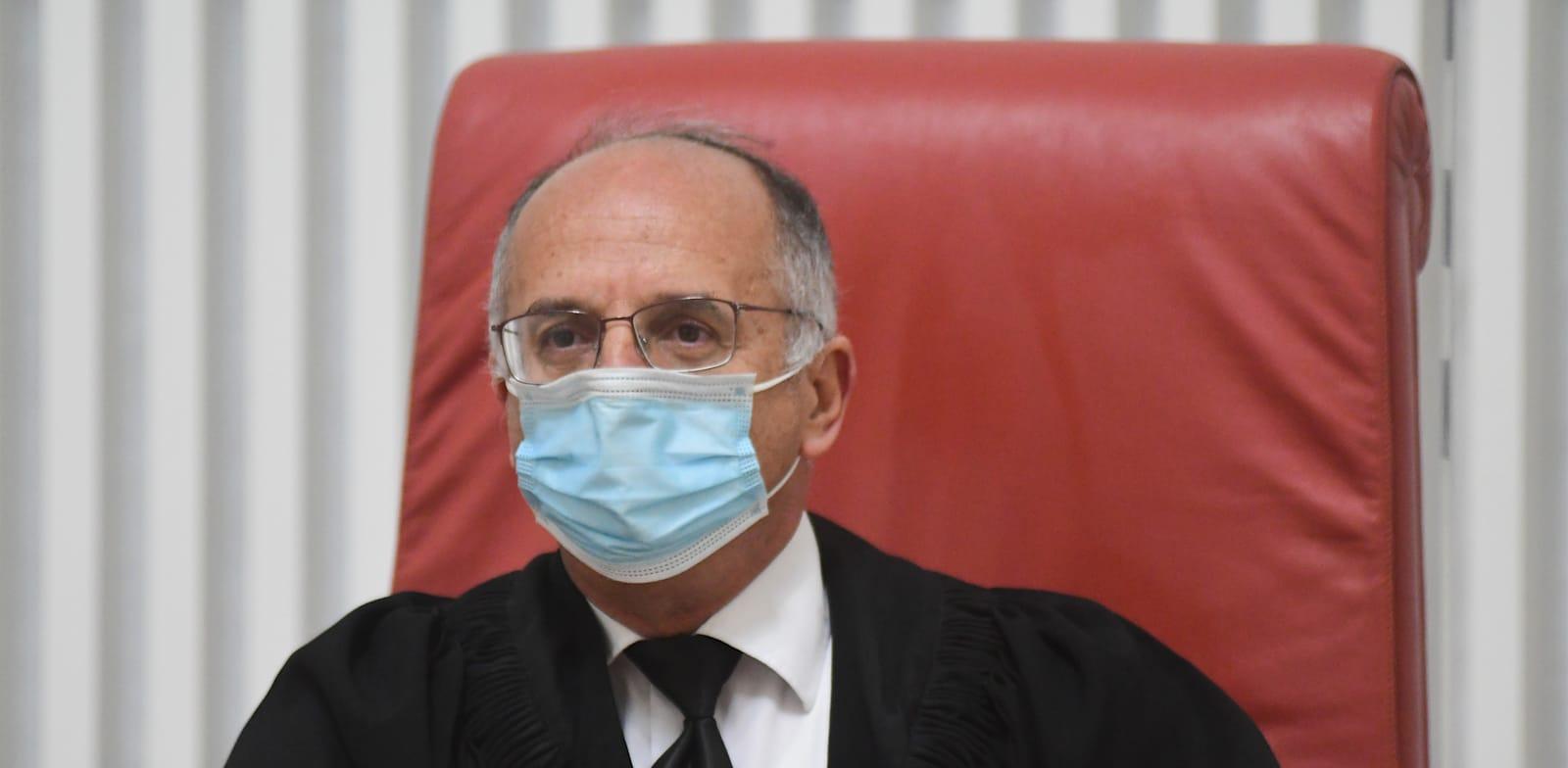 שופט העליון נעם סולברג / צילום: רפי קוץ