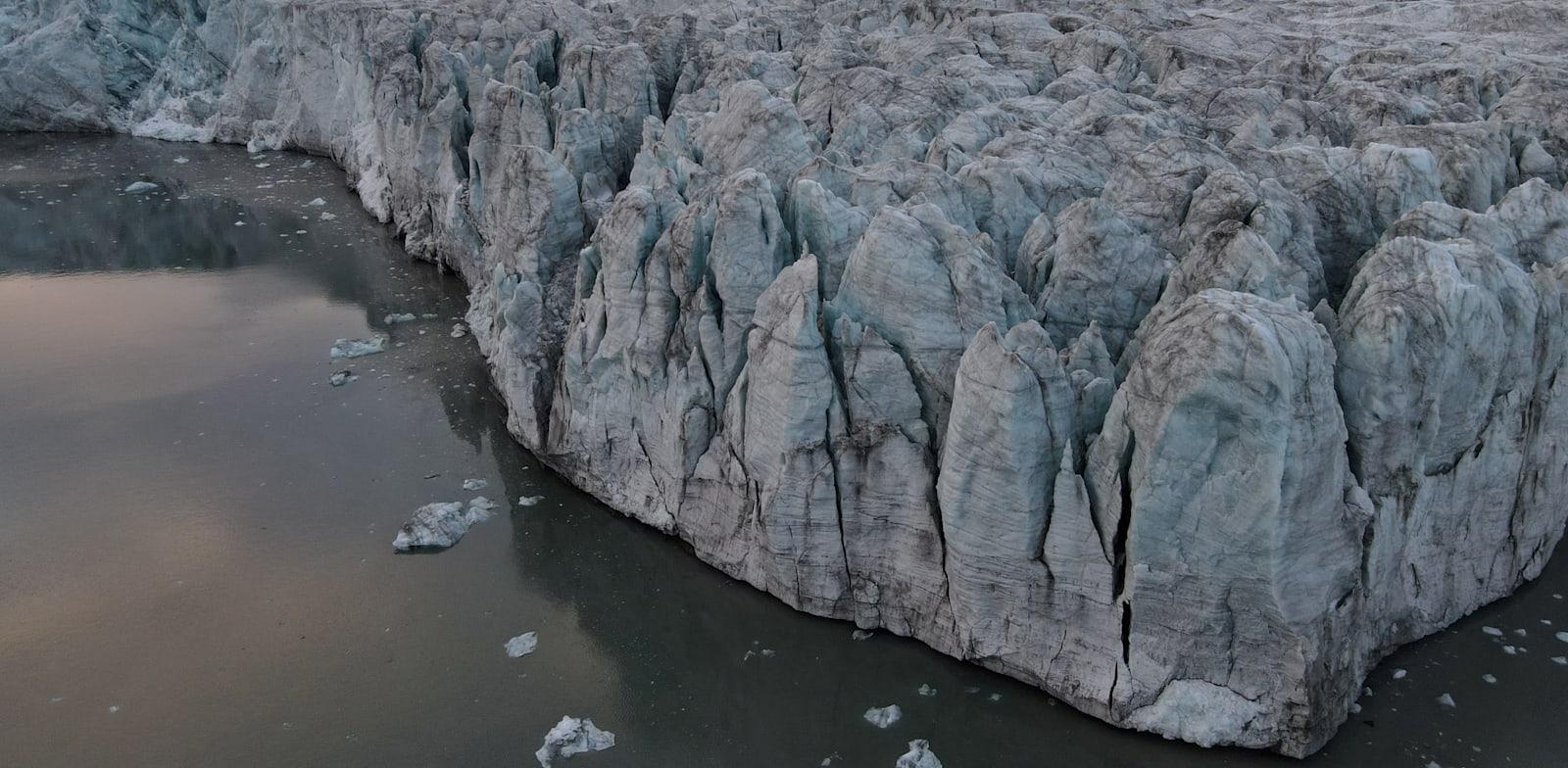 קרחונים בנורבגיה ממעוף הציפור / צילום: Reuters, Natalie Thomas