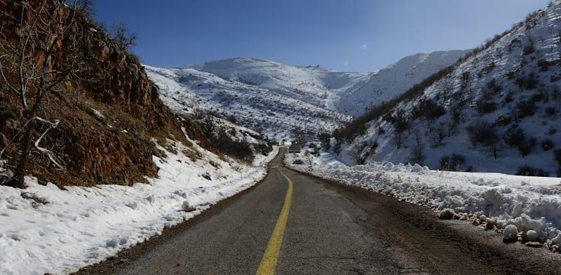 שלג בחרמון, ינואר 2021 / צילום: איל יצהר
