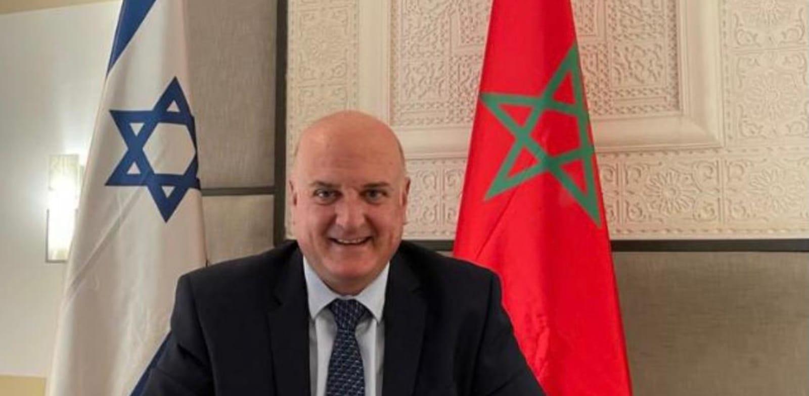 השגריר במרוקו דוד גוברין / צילום: משרד החוץ