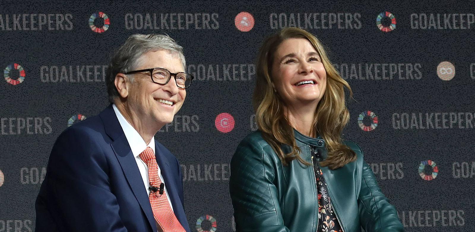ביל ומלינדה גייטס / צילום: Reuters, PBG