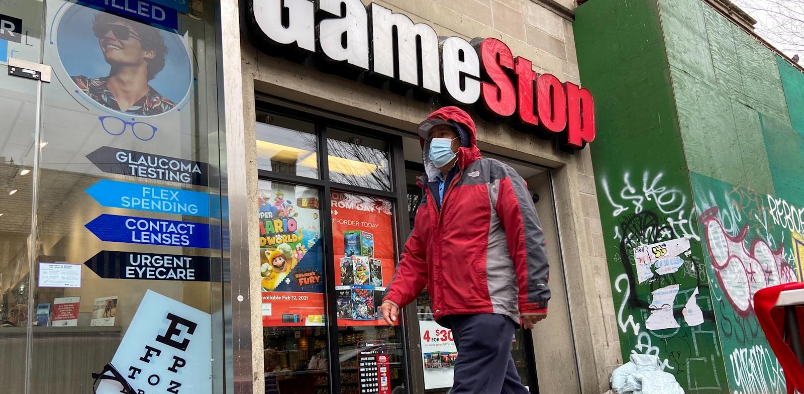 חנות של גיימסטופ בניו יורק / צילום: Reuters, Nick Zieminski