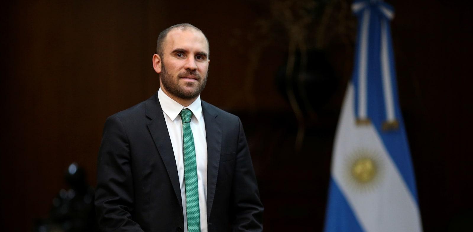 שר האוצר של ארגנטינה מרטין גוזמן / צילום: Reuters, Agustin Marcarian