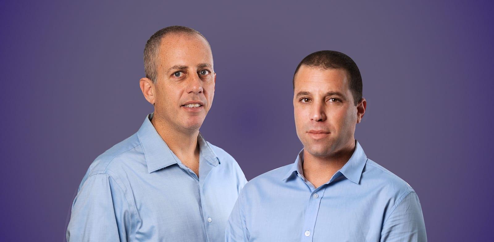 """תום שפרן, מנכ""""ל סולגרין, וגל בוגין, יו""""ר החברה / צילום: אייל טואג"""
