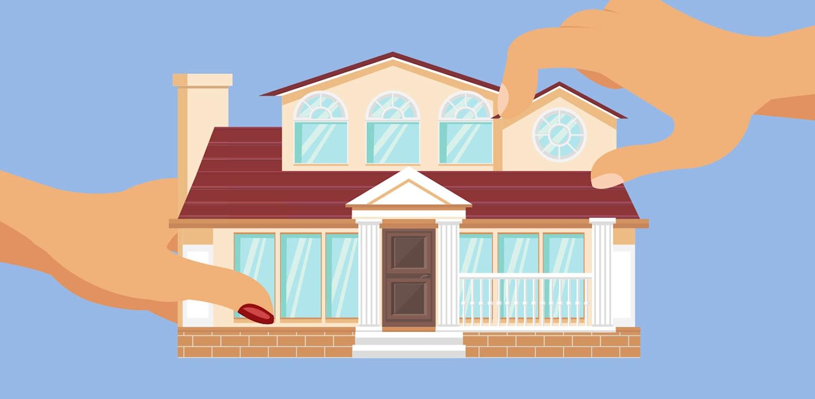 כאשר בני זוג עומדים בפני גירושים, מתעוררות הרבה שאלות סביב דירת המגורים המשותפת / צילום: Shutterstock