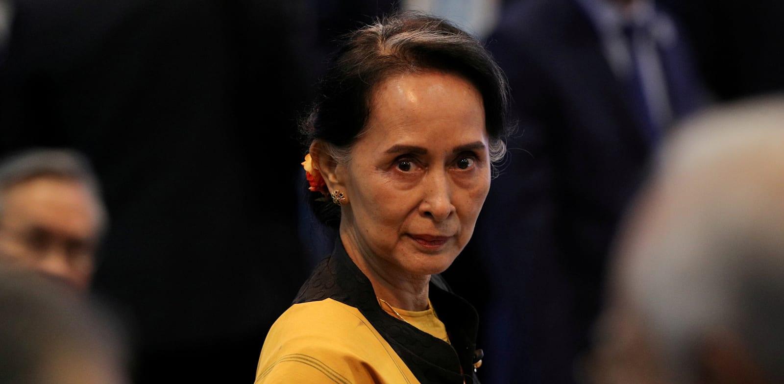 אונג סן סו צ'י, יועצת המדינה של מיאנמר / צילום: Reuters, Athit Perawongmetha