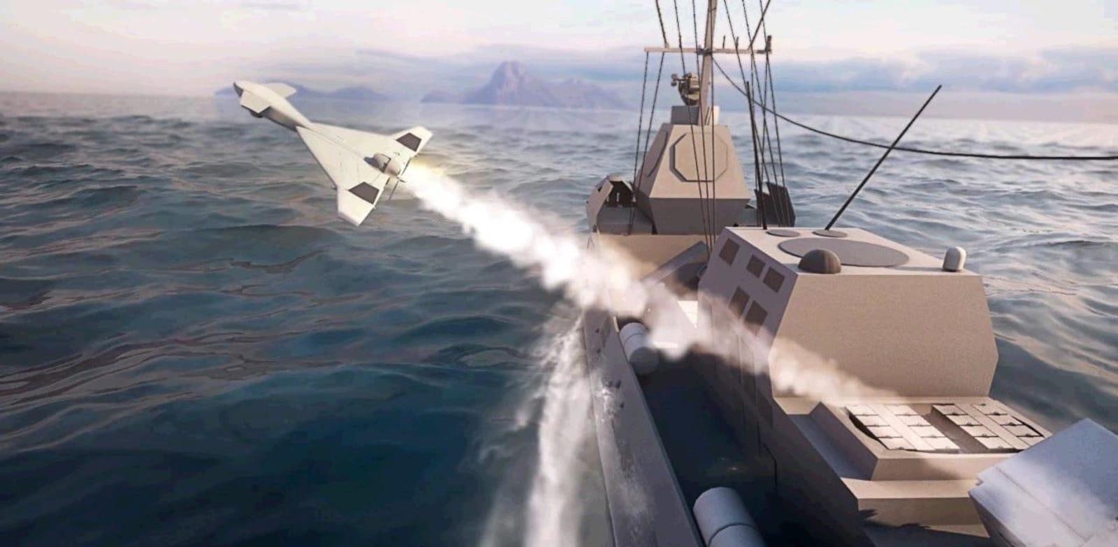 Harop naval missile Credit: IAI