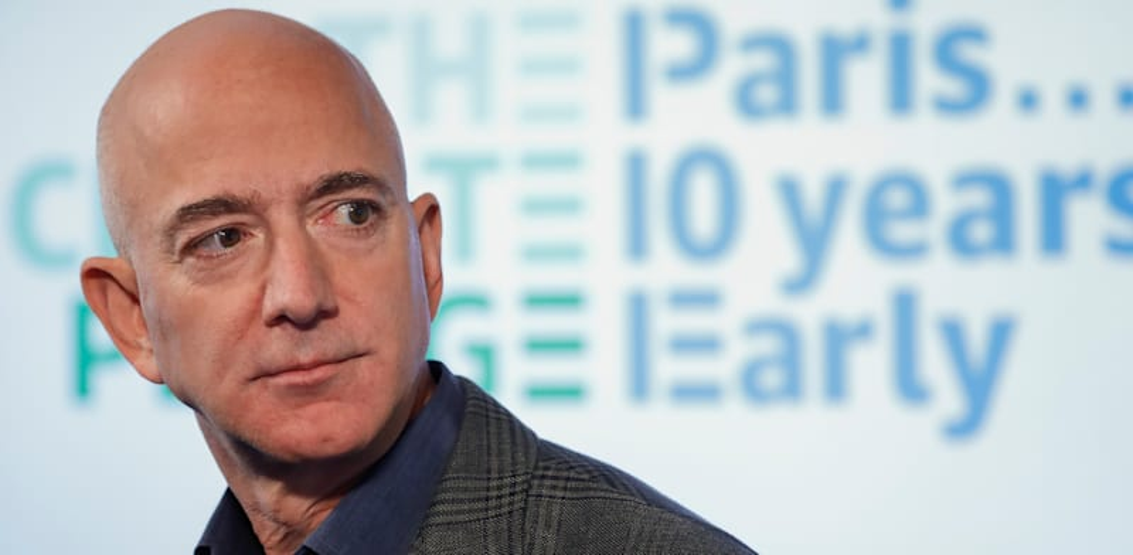 """ג'ף בזוס, מנכ""""ל ומייסד אמזון / צילום: Associated Press, Pablo Martinez Monsivais"""