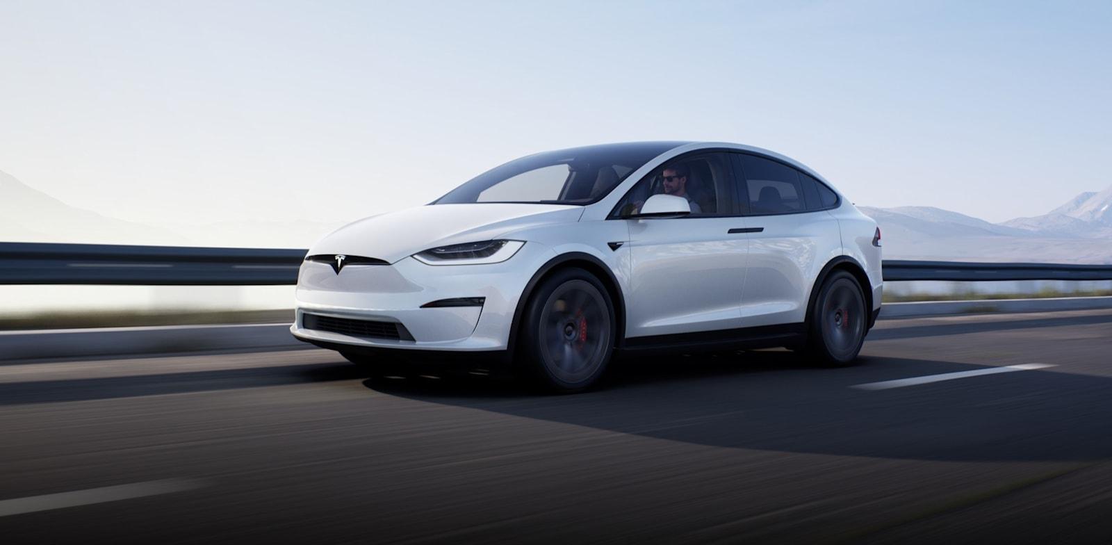 "Tesla X Long Range / צילום: יח""צ"