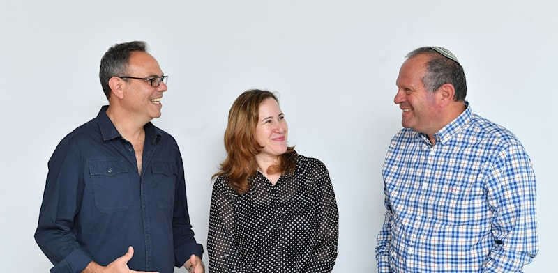 Roy Yogev, Avi Weiss and Sigal Shaked Credit: PR