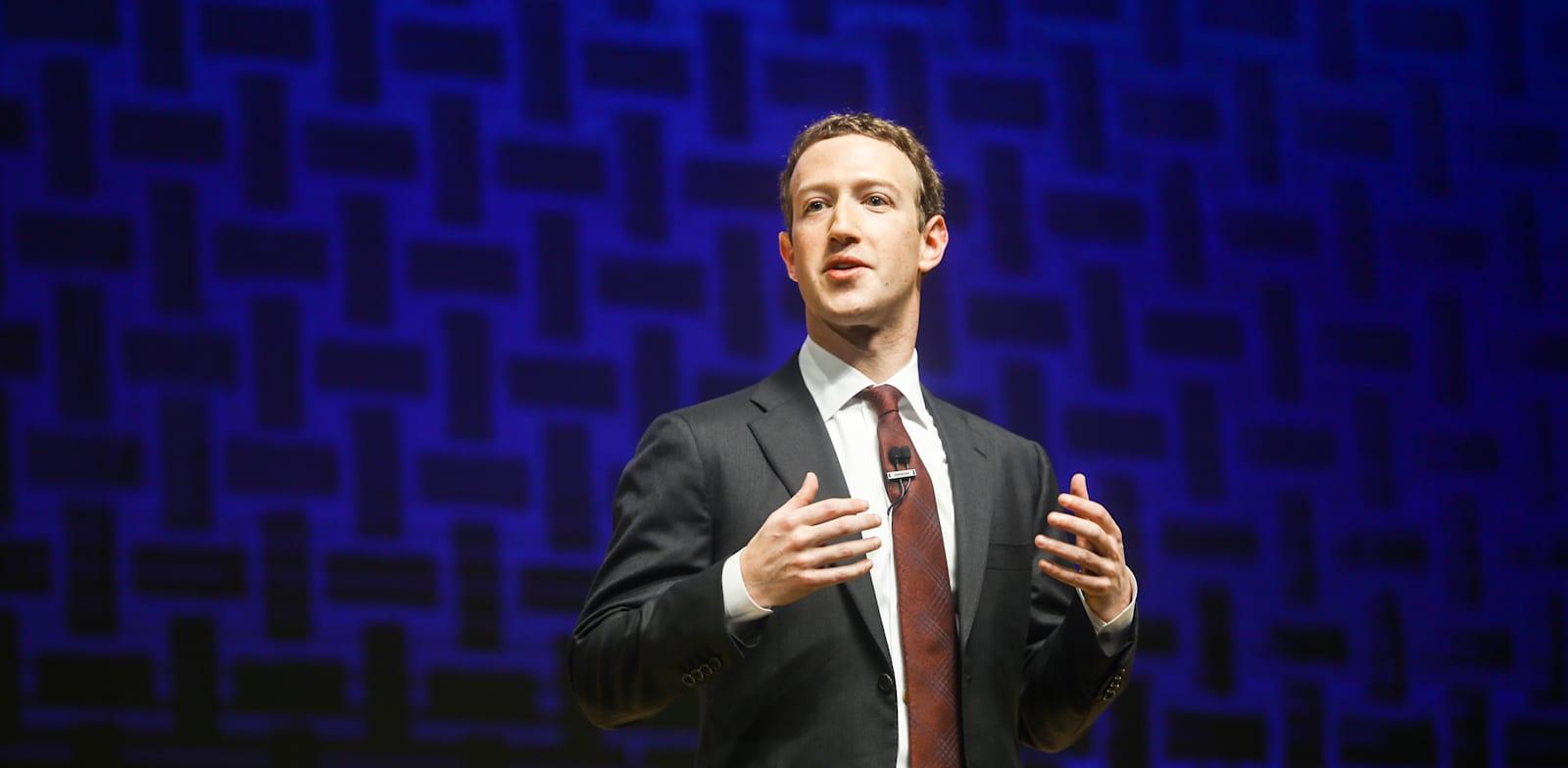"מייסד ומנכ""ל פייסבוק, מארק צוקרברג / צילום: Reuters, Jennifer Graylo"