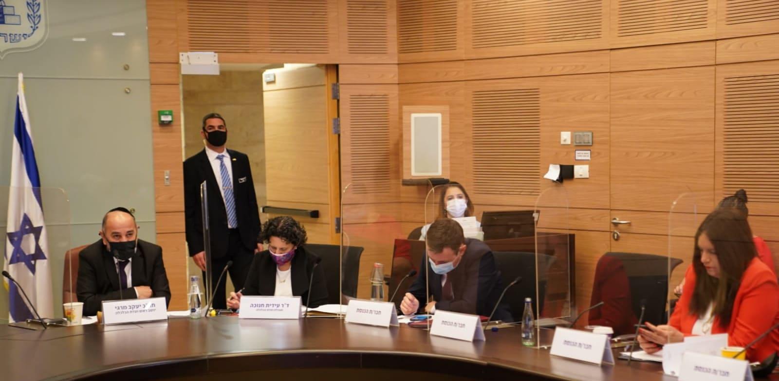 דיון בוועדת הכלכלה על ענף התעופה בישראל / צילום: דני שם טוב, דוברות הכנסת