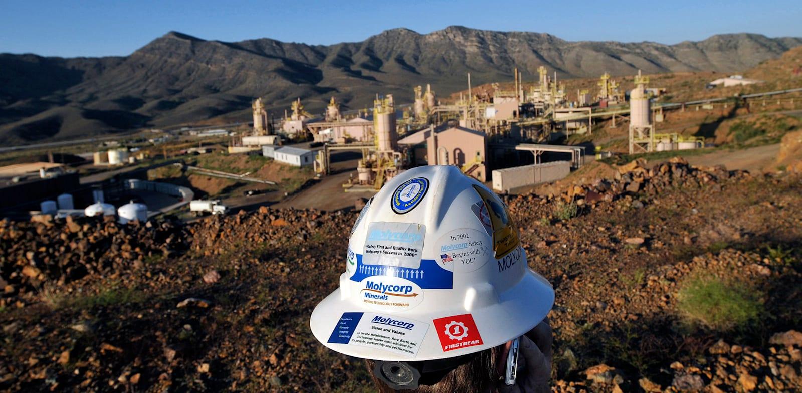 """מכרה מתכות יקרות בקליפורניה, ארה""""ב / צילום: Reuters, David Becker"""
