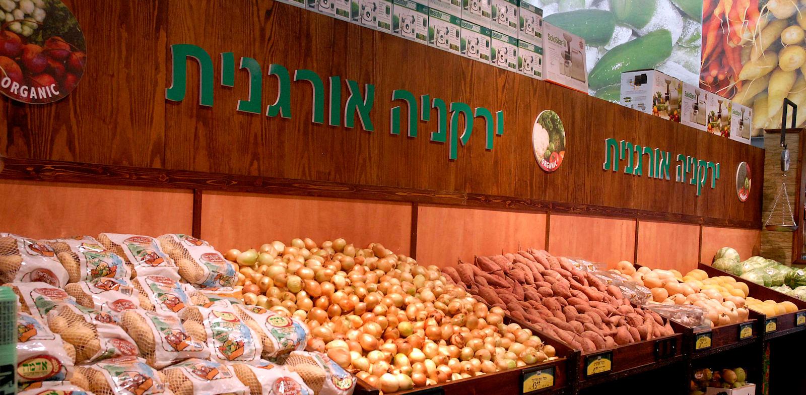 ירקות אורגניים / צילום: תמר מצפי