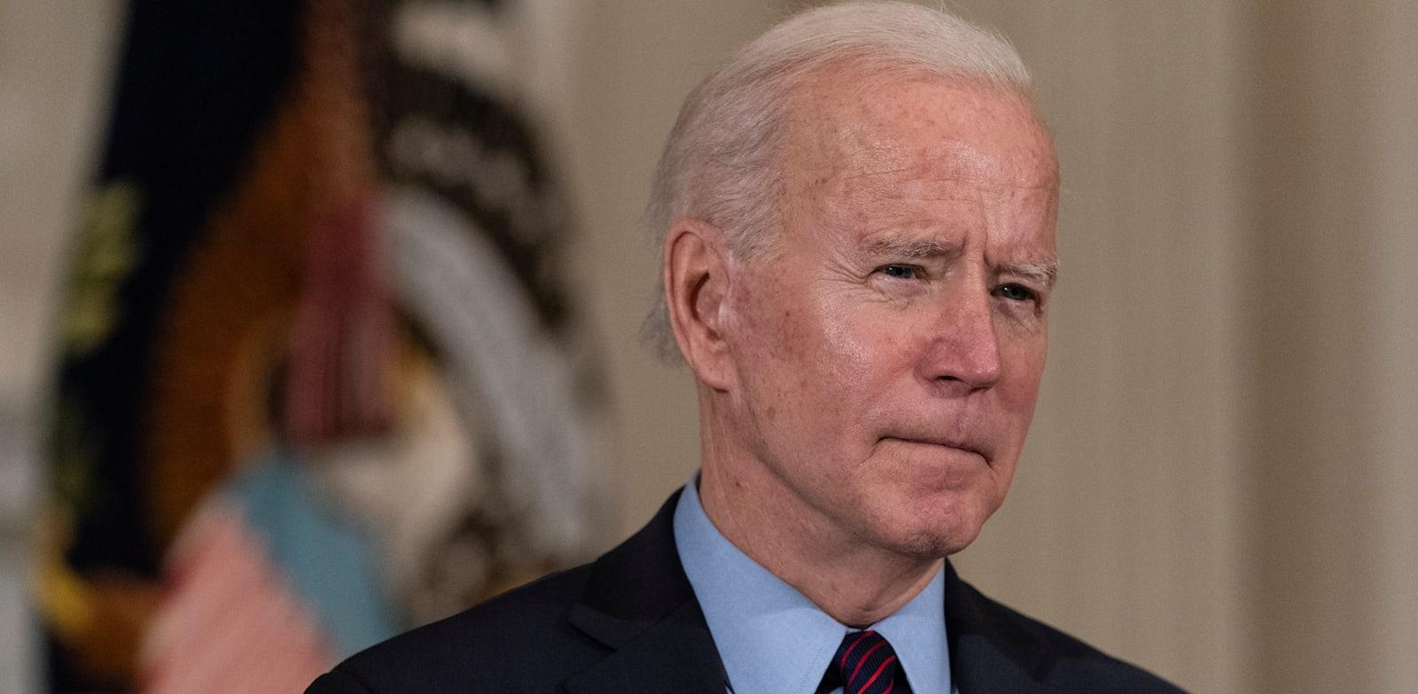 """נשיא ארה""""ב ג'ו ביידן / צילום: Associated Press, Alex Brandon"""