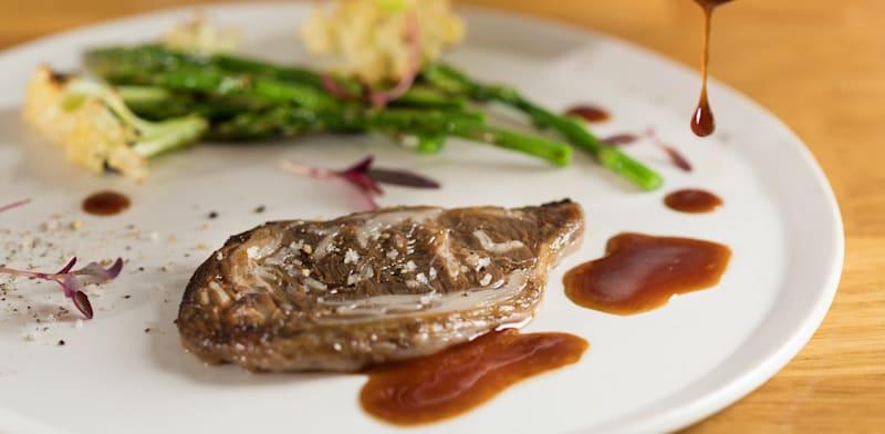 Aleph Farms ribeye steak Photo: Aleph Farms