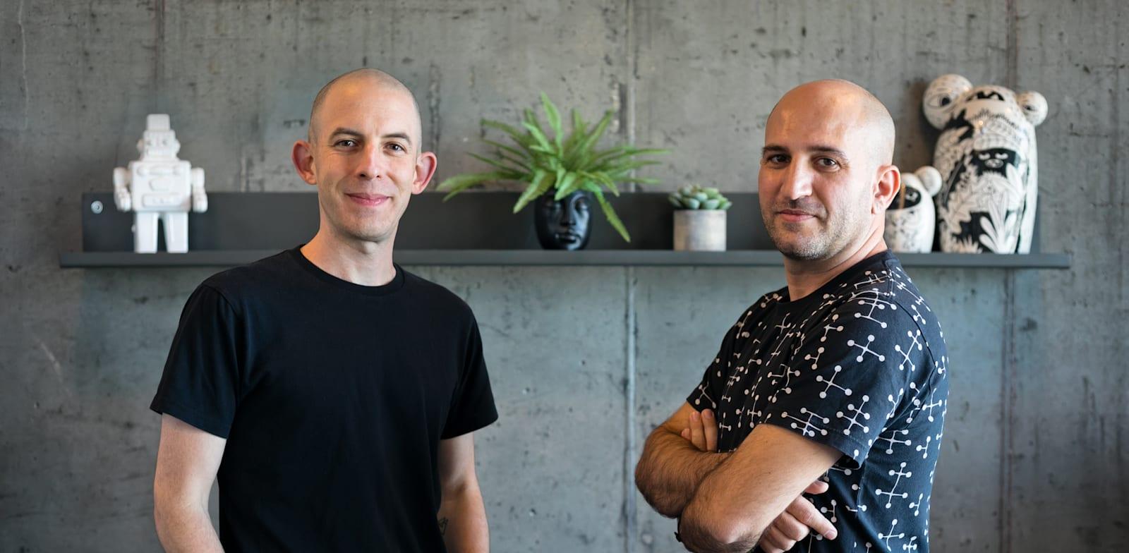 Oded Lavie and Lior Weizmann Credit: Efrat Saar