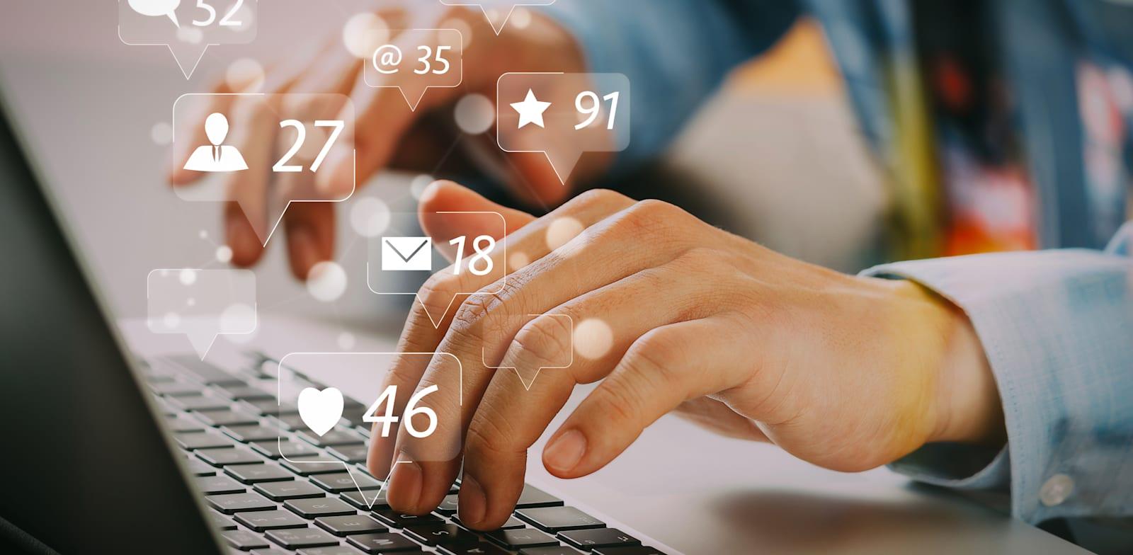 רשתות חברתיות. הקלדה קטנה עלולה להפוך להסתה גדולה / צילום: Shutterstock, everything possible