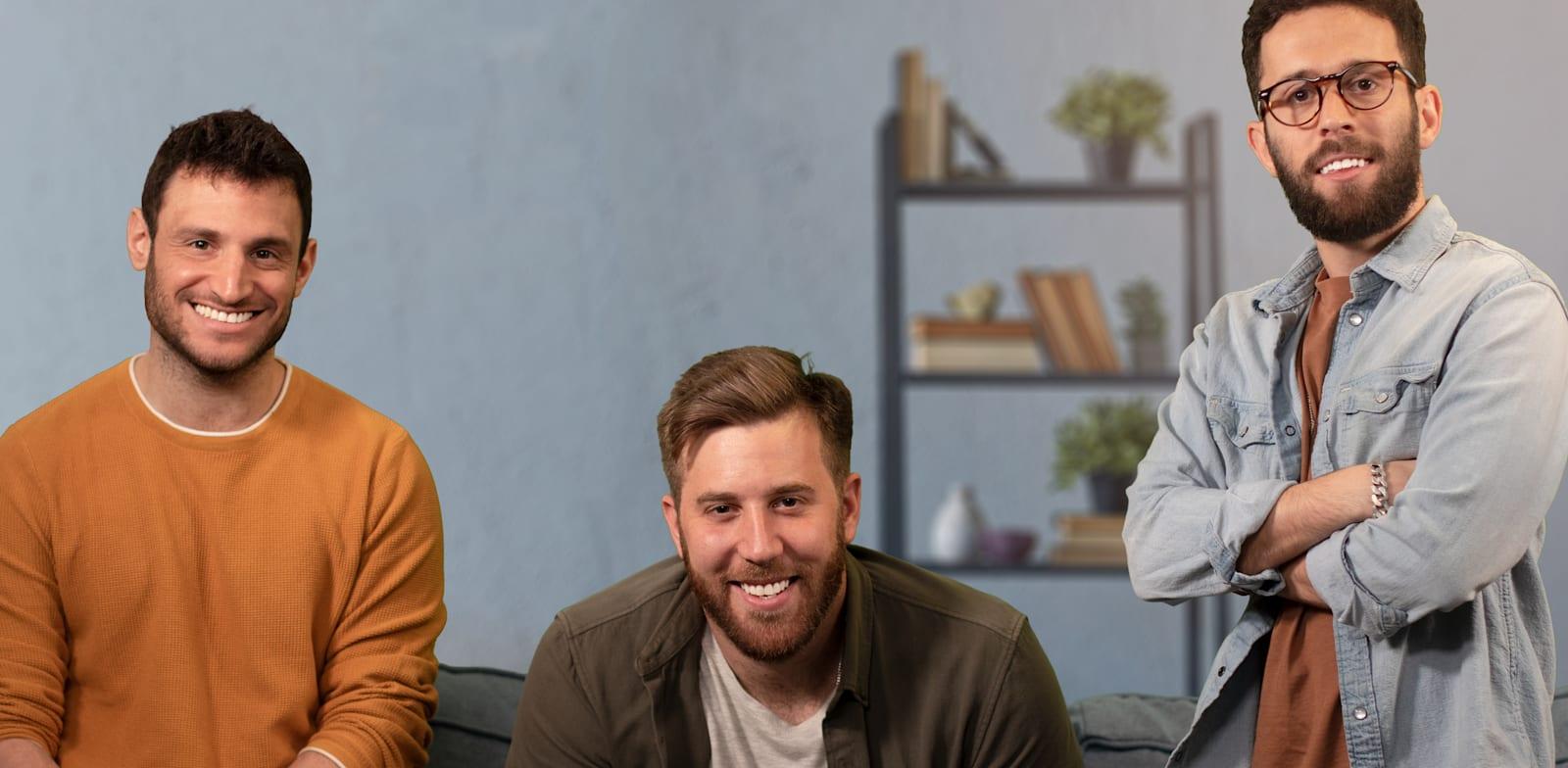מייסדי אקססיבי, דקל סקופ, גל ויזל ושיר אקרלינג / צילום: אקססיבי