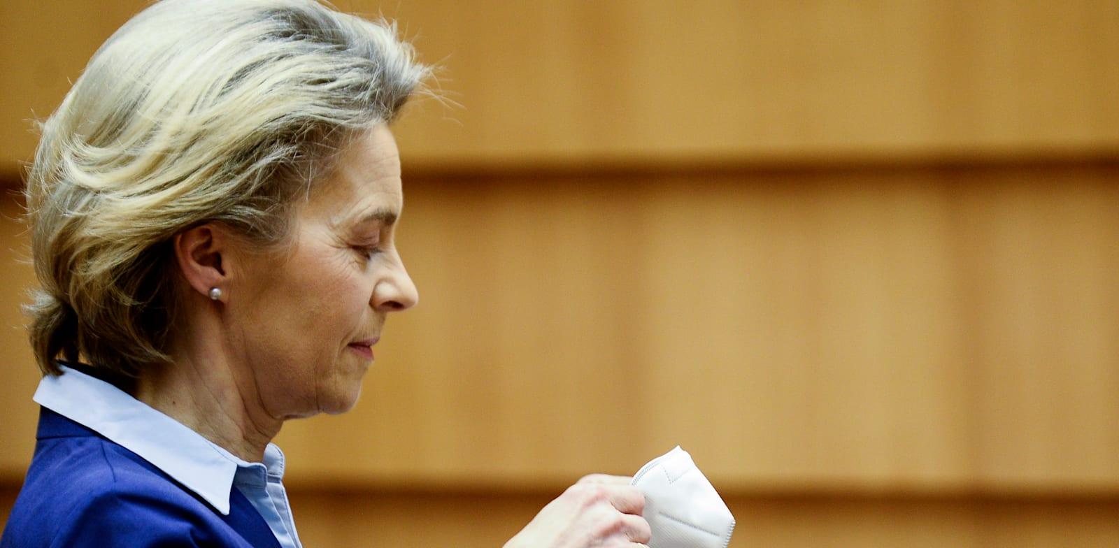 נשיאת הנציבות האירופית, אורסולה פון דר לאיין / צילום: Associated Press, Johanna Geron