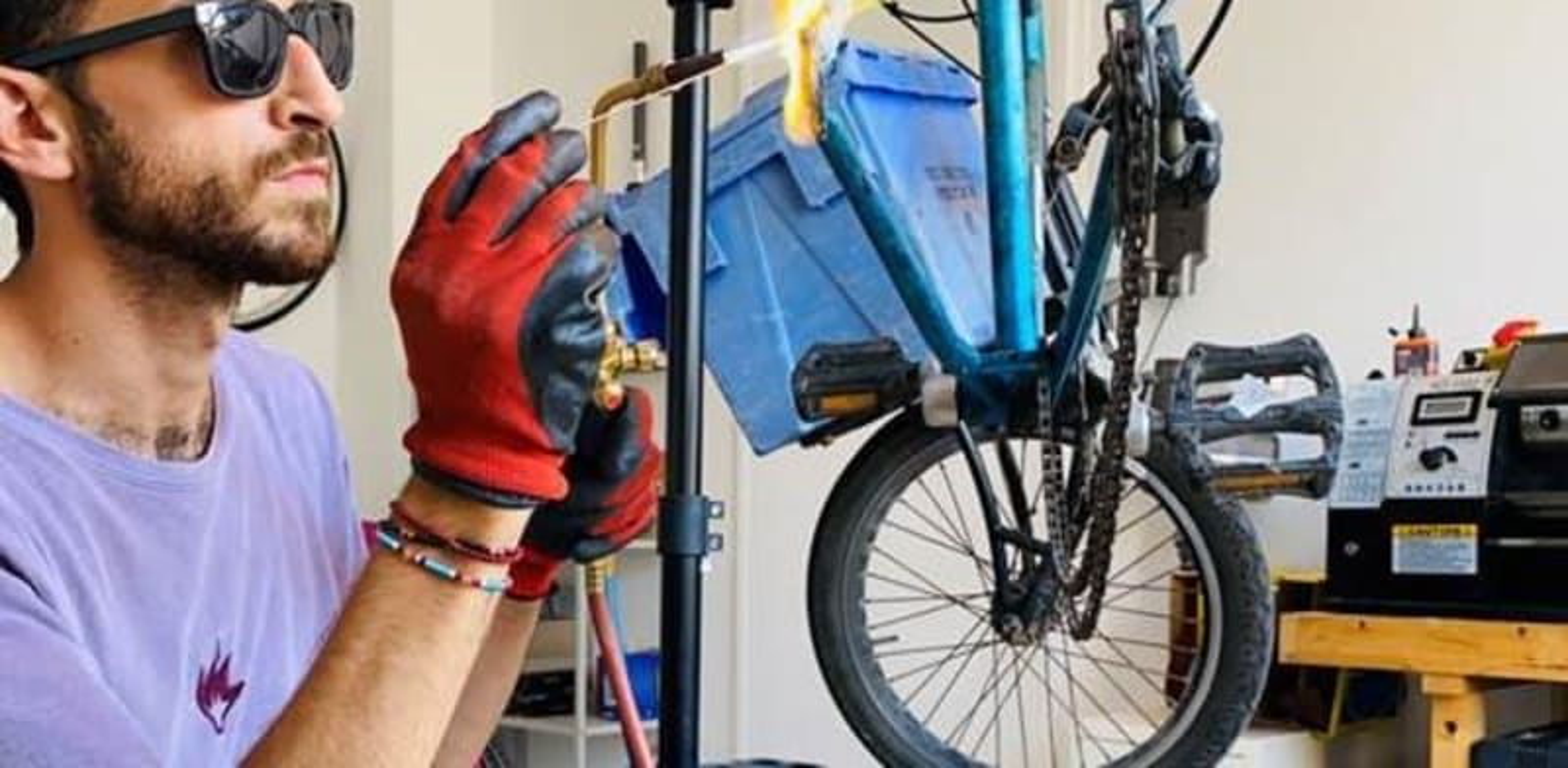 """דן סרוסי, הבעלים של מותג האופניים """"סרוסי"""" / צילום: תמונה פרטית"""